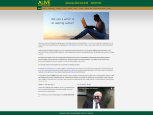 ALIVE Digital Marketing | Book Publishing
