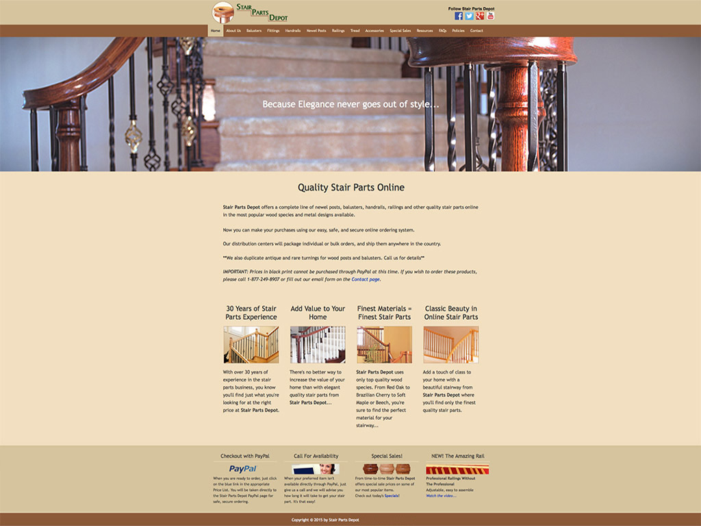 ALIVE Digital Marketing | Stair Parts Depot